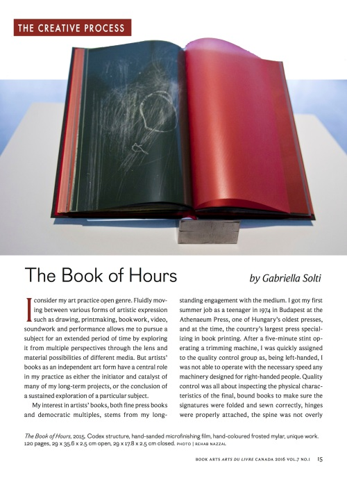 SOLTI Book of Hours